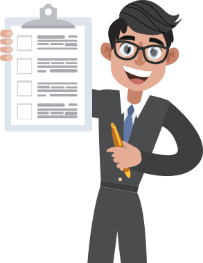 Person With Document